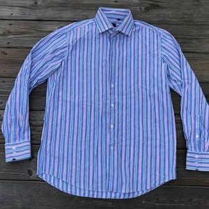 Hugo Boss Men Casual Shirt Long Sleeve Button Fron